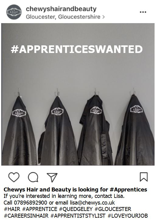 Apprentices Wanted