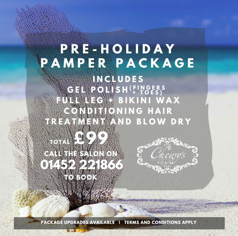 PreHoliday Pamper Package